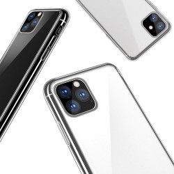 Skal iPhone 11 Pro i genomskinligt gummi, 1mm